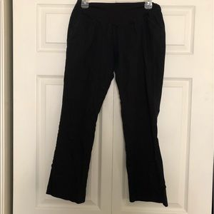 Black trousers from Motherhood Maternity in PL